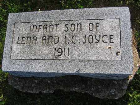 JOYCE, INFANT SON - Sebastian County, Arkansas | INFANT SON JOYCE - Arkansas Gravestone Photos