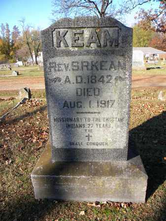 KEAM, S R (REV) - Sebastian County, Arkansas   S R (REV) KEAM - Arkansas Gravestone Photos