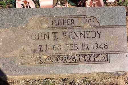 KENNEDY, JOHN T. - Sebastian County, Arkansas | JOHN T. KENNEDY - Arkansas Gravestone Photos