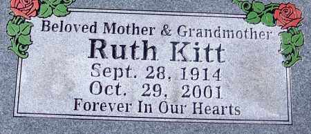 KITT, RUTH - Sebastian County, Arkansas | RUTH KITT - Arkansas Gravestone Photos