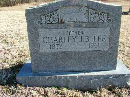 LEE, CHARLEY J. B. - Sebastian County, Arkansas | CHARLEY J. B. LEE - Arkansas Gravestone Photos