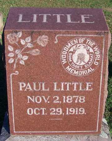 LITTLE, PAUL - Sebastian County, Arkansas | PAUL LITTLE - Arkansas Gravestone Photos