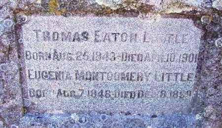 LITTLE, THOMAS EATON - Sebastian County, Arkansas | THOMAS EATON LITTLE - Arkansas Gravestone Photos