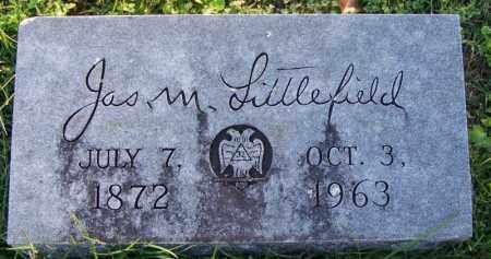 LITTLEFIELD, JAMES M - Sebastian County, Arkansas | JAMES M LITTLEFIELD - Arkansas Gravestone Photos
