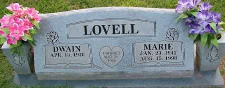 LOVELL, MARIE - Sebastian County, Arkansas | MARIE LOVELL - Arkansas Gravestone Photos