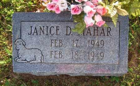 MAHAR, JANICE D. - Sebastian County, Arkansas   JANICE D. MAHAR - Arkansas Gravestone Photos