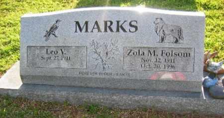 MARKS, ZOLA M. - Sebastian County, Arkansas | ZOLA M. MARKS - Arkansas Gravestone Photos