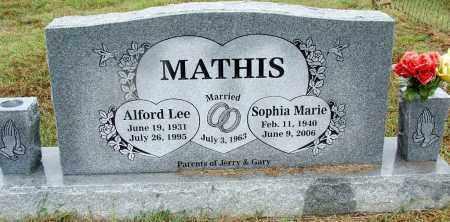 MATHIS, SOPHIA MARIE - Sebastian County, Arkansas | SOPHIA MARIE MATHIS - Arkansas Gravestone Photos