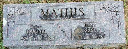 MATHIS, JOSEPH L - Sebastian County, Arkansas | JOSEPH L MATHIS - Arkansas Gravestone Photos
