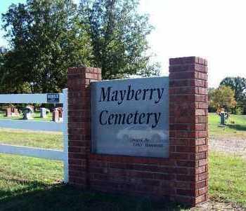 *MAYBERRY CEMETERY GATE,  - Sebastian County, Arkansas |  *MAYBERRY CEMETERY GATE - Arkansas Gravestone Photos
