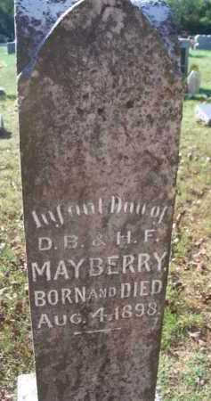 MAYBERRY, INFANT DAUGHTER  (OLD STONE) - Sebastian County, Arkansas | INFANT DAUGHTER  (OLD STONE) MAYBERRY - Arkansas Gravestone Photos