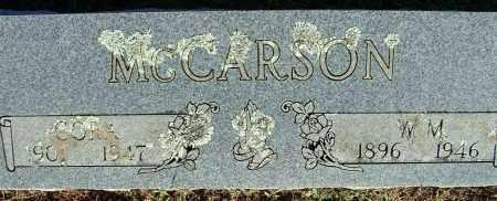 MCCARSON, CORA - Sebastian County, Arkansas   CORA MCCARSON - Arkansas Gravestone Photos