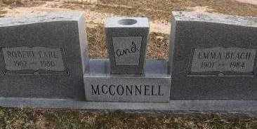 BEACH MCCONNELL, EMMA - Sebastian County, Arkansas   EMMA BEACH MCCONNELL - Arkansas Gravestone Photos