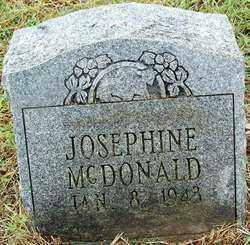 MCDONALD, JOSEPHINE - Sebastian County, Arkansas   JOSEPHINE MCDONALD - Arkansas Gravestone Photos