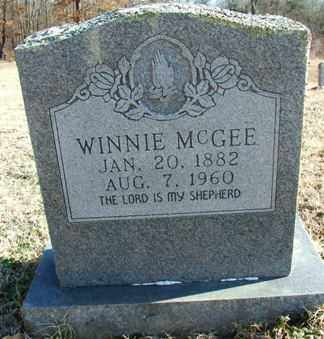 MCGEE, WINNIE - Sebastian County, Arkansas | WINNIE MCGEE - Arkansas Gravestone Photos