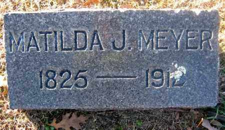 MEYER, MATILDA J. - Sebastian County, Arkansas | MATILDA J. MEYER - Arkansas Gravestone Photos
