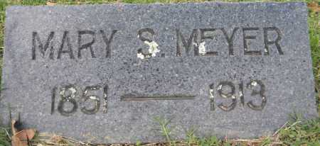 MEYER, MARY S. - Sebastian County, Arkansas | MARY S. MEYER - Arkansas Gravestone Photos