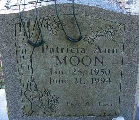 MOON, PATRICIA ANN - Sebastian County, Arkansas | PATRICIA ANN MOON - Arkansas Gravestone Photos