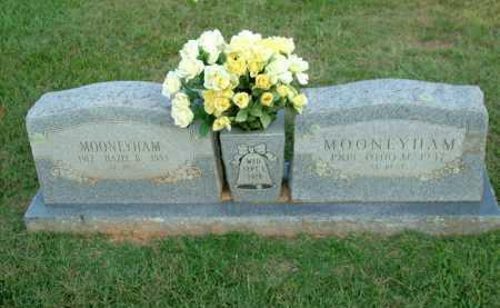 MOONEYHAM, HAZEL BEATRICE - Sebastian County, Arkansas | HAZEL BEATRICE MOONEYHAM - Arkansas Gravestone Photos