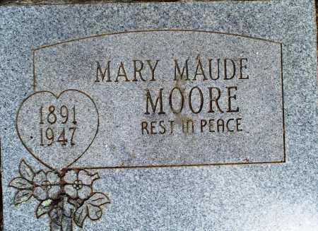 MOORE, MARY MAUDE - Sebastian County, Arkansas   MARY MAUDE MOORE - Arkansas Gravestone Photos