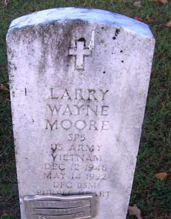 MOORE (VETERAN VIET), LARRY WAYNE - Sebastian County, Arkansas | LARRY WAYNE MOORE (VETERAN VIET) - Arkansas Gravestone Photos