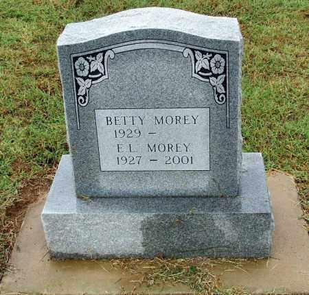 MOREY, E. L. - Sebastian County, Arkansas   E. L. MOREY - Arkansas Gravestone Photos