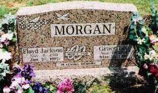MORGAN, FLOYD JACKSON - Sebastian County, Arkansas | FLOYD JACKSON MORGAN - Arkansas Gravestone Photos