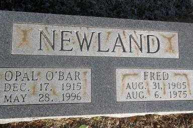 NEWLAND, OPAL - Sebastian County, Arkansas | OPAL NEWLAND - Arkansas Gravestone Photos