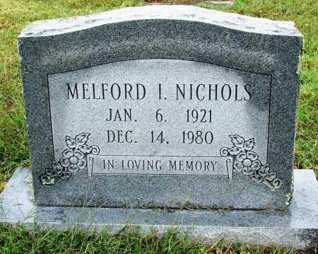 NICHOLS, MELFORD I - Sebastian County, Arkansas   MELFORD I NICHOLS - Arkansas Gravestone Photos