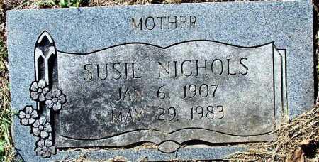 NICHOLS, SUSIE - Sebastian County, Arkansas | SUSIE NICHOLS - Arkansas Gravestone Photos