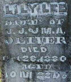 OLIVER, LILY LEE (2) - Sebastian County, Arkansas | LILY LEE (2) OLIVER - Arkansas Gravestone Photos