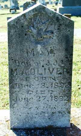 OLIVER, MAY - Sebastian County, Arkansas | MAY OLIVER - Arkansas Gravestone Photos