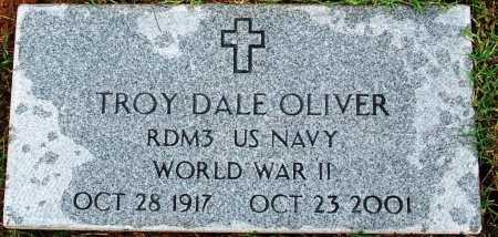 OLIVER (VETERAN WWII), TROY DALE - Sebastian County, Arkansas | TROY DALE OLIVER (VETERAN WWII) - Arkansas Gravestone Photos