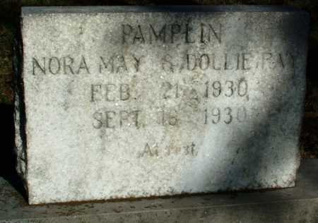 PAMPLIN, NORA MAY - Sebastian County, Arkansas | NORA MAY PAMPLIN - Arkansas Gravestone Photos