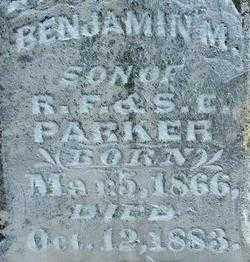PARKER, BENJAMIN M (2) - Sebastian County, Arkansas | BENJAMIN M (2) PARKER - Arkansas Gravestone Photos