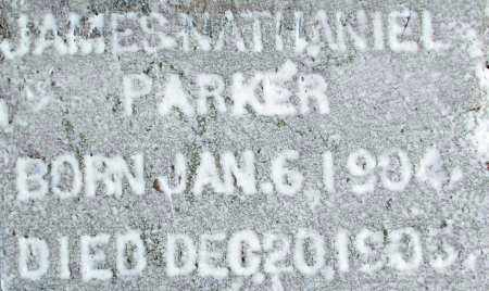 PARKER, JAMES NATHANIEL - Sebastian County, Arkansas | JAMES NATHANIEL PARKER - Arkansas Gravestone Photos