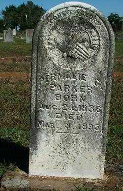 PARKER, PERMELIE G. - Sebastian County, Arkansas | PERMELIE G. PARKER - Arkansas Gravestone Photos