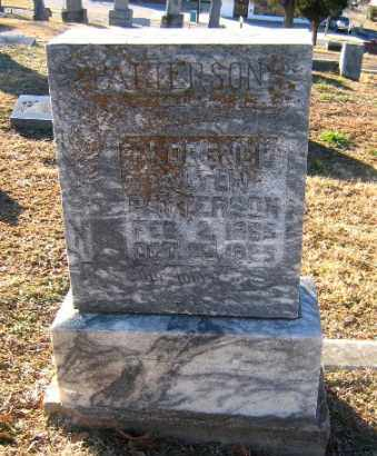 PATTERSON, FLORENCE ALTON - Sebastian County, Arkansas | FLORENCE ALTON PATTERSON - Arkansas Gravestone Photos