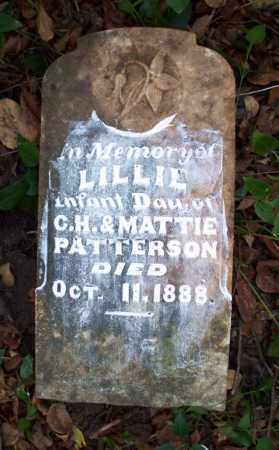 PATTERSON, LILLIE - Sebastian County, Arkansas | LILLIE PATTERSON - Arkansas Gravestone Photos