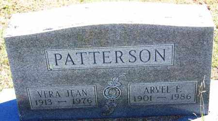 PATTERSON, ARVEL F - Sebastian County, Arkansas | ARVEL F PATTERSON - Arkansas Gravestone Photos