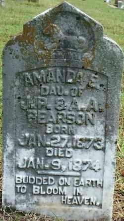 PEARSON, AMANDA E. - Sebastian County, Arkansas   AMANDA E. PEARSON - Arkansas Gravestone Photos