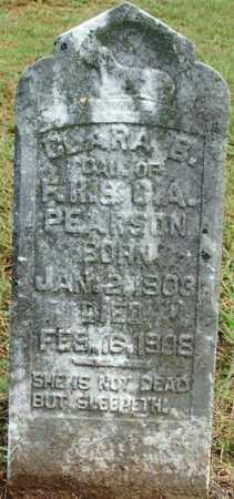PEARSON, CLARA B. - Sebastian County, Arkansas | CLARA B. PEARSON - Arkansas Gravestone Photos