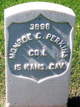 PERKINS (VETERAN UNION), MONROE C - Sebastian County, Arkansas | MONROE C PERKINS (VETERAN UNION) - Arkansas Gravestone Photos