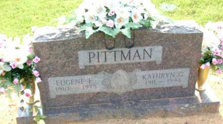 PITTMAN, EUGENE E - Sebastian County, Arkansas | EUGENE E PITTMAN - Arkansas Gravestone Photos