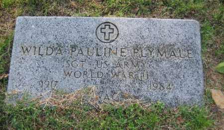 PLYMALE (VETERAN WWII), WILDA PAULINE - Sebastian County, Arkansas | WILDA PAULINE PLYMALE (VETERAN WWII) - Arkansas Gravestone Photos