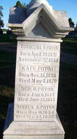 PRYOR, REUBEN A - Sebastian County, Arkansas | REUBEN A PRYOR - Arkansas Gravestone Photos