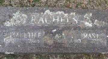 RACHELS, THOMAS L - Sebastian County, Arkansas   THOMAS L RACHELS - Arkansas Gravestone Photos