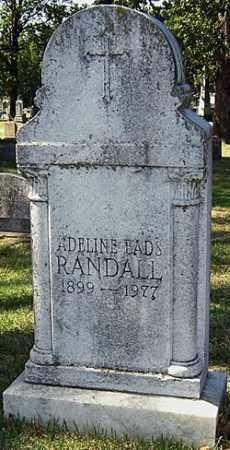RANDALL, ADELINE - Sebastian County, Arkansas | ADELINE RANDALL - Arkansas Gravestone Photos