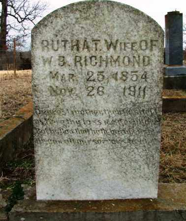 RICHMOND, RUTHA T - Sebastian County, Arkansas | RUTHA T RICHMOND - Arkansas Gravestone Photos