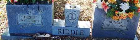 RIDDLE, BONNIE - Sebastian County, Arkansas | BONNIE RIDDLE - Arkansas Gravestone Photos